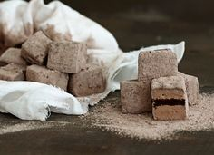 Mudslide Marshmallows - with Kahlua and Bailey's Irish Cream