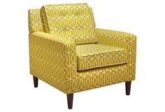 Winston Armchair, Yellow on OneKingsLane.com