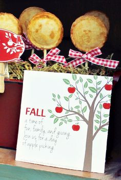 Fall Apple Picking Party // Hostess with the Mostess® Apple Theme Parties, Fall Party Themes, Birthday Party Themes, Party Ideas, Apple Birthday, Fall Harvest Party, The Giving Tree, Apple Harvest, Fall Fest