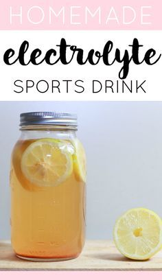 These 4-ingredient DIY Electrolyte Drink recipes are so easy to make and are much healthier than Gatorade! Perfect for hot summer days or after an intense workout!