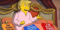 Les dernières péripéties de Donald Trump ont inspiré les Simpson