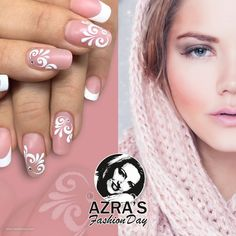 "abc nailstore präsentiert:  Azra's Fashion Day: dreamful winter Nailart ""fashionable french"""