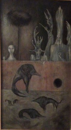 Leonara Carrington (1917~2011, English-born Mexican artist, surrealist painter, and novelist)