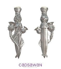 The Sassenach Silver Pin (Outlander by Diana Gabaldon)