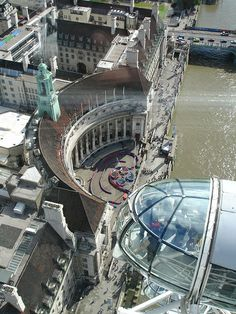 The view from the London Eye.
