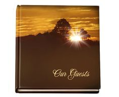 """Sign-In Guest Book 8"""" x 8"""" Hardcover Glossy Renewal"""