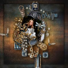 FANTASMAGORIA - Deep Delirium - Steampunk Kit