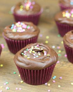 Los cupcakes de chocolate. Sí. LOS CUPCAKES (con mayúsculas) y... mi blog cumple 3 añitos!!!