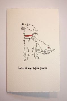 Happy Valentines Day, Maggie & Holly! Love, your family. ❤️ Border Collie Super Hero Line Drawing Blank | appledaledesigns | Etsy