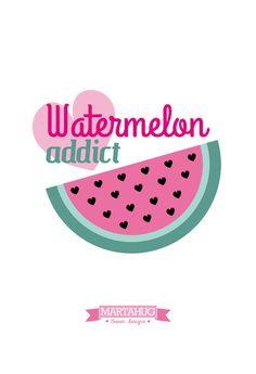 Wallpaper Watermelon by MARTAHUG