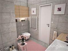 Návrh interiéru bytu Romantika v akcii, pohľad na vstup do kúpeľne Toilet, Nostalgia, Flush Toilet, Toilets, Toilet Room, Bathrooms