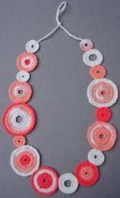 collares crochet - Buscar con Google