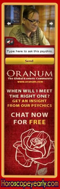 Oranum Psychic Chat - Many of the clients who have chosen Oranum for years tell of the communication capabilities and intelligence of the psychics. The vast majority of online psychics here possess understanding of a variety of spiritual areas and so are able to use that understanding to help their customers. No matter if individuals are thinking about their finances, occupations, or the ultimate fate of a sick friend, they ... Learn More: http://www.horoscopeyearly.com/oranum-psychic-chat/
