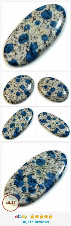 Natural K2 Blue Jasper (Blue Azurite with Granite) Oval Cabochon Collection | eBay http://www.ebay.com/itm/Natural-K2-Blue-Jasper-Blue-Azurite-Granite-Oval-Cabochon-Collection-/372062851946?var=&hash=item953c63375a