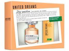 Benetton United Dreams Stay Positive Perfume - Feminino Eau de Toilette 80ml + Desodorante 150ml