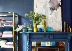 How to Design With Mustard Yellow Like an Interior Decorator via @MyDomaine