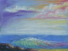 Prophetic Art Painting - Seascape Dream by Patricia Kimsey Bollinger