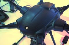 The Yuneec Typhoon H drone can sense and avoid obstacles in real time