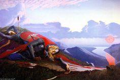 Рождение Дуная / Birth of the Danube. Painting by Konstantin Vasiliev