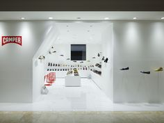 SHOE STORES! Camper shoe store by Nendo, Osaka store design