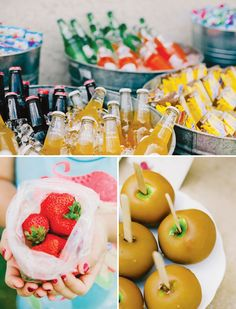 farmers market birthday idea! I love this....getting closer to picking a theme for Lucs Bday!