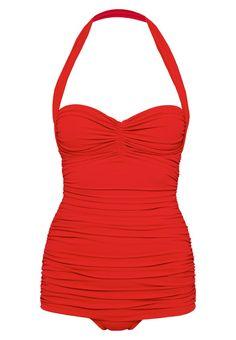 Norma Kamali BILL MIO Badeanzug red Bekleidung bei Zalando.de | Material Oberstoff: 100% Polyester | Bekleidung jetzt versandkostenfrei bei Zalando.de bestellen!