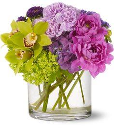 628 Composicion de Peonias - Exoticas Flores :: Tu Floreria en Linea.