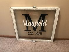 SALE Rustic wedding frame - grow old with me the best is yet to be - last name signs - wood window w Old Wood Windows, Antique Windows, Vintage Windows, Barn Windows, Reclaimed Windows, Recycled Windows, Vinyl Windows, Old Window Crafts, Old Window Projects