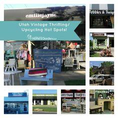 Utah Vintage Thrifting/ Upcycling Hot Spots: Jordan Valley Home & Garden Club