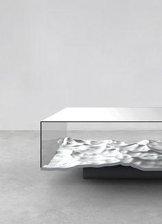 Liquid Table by Mathieu Lehanneur