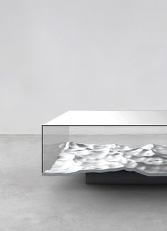 Liquid Table by Mathieu Lehanneur
