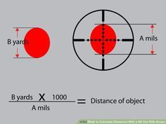 How to Calculate Distances With a Mil Dot Rifle Scope: 7 Steps