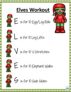 Christmas Instant Activity Warm Up for PE, Brain Breaks and Active Classrooms Elementary Physical Education, Physical Education Activities, Elementary Pe, Pe Activities, Health And Physical Education, Movement Activities, Comprehension Activities, Preschool Christmas, Christmas Games
