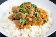 Slow Cooker Coconut Curry Pork - Paleoly