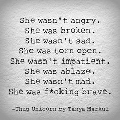 To humans. To this planet. To the solar system. To the Universe. To this life. —Thug Unicorn by Tanya Markul