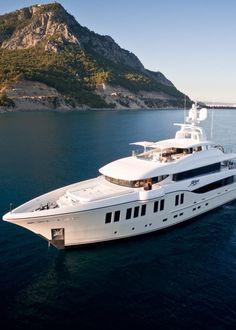 Alia Yachts' Latest Superyacht Is Named Rüya
