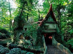 Fairy Tale House green