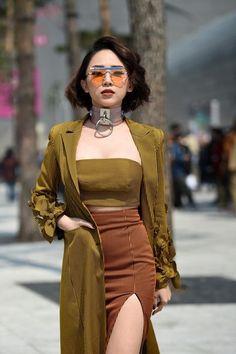 47 Korean Outfits For You This Summer - Fashion New Trends - korean fashion Mode Harajuku, Estilo Harajuku, Harajuku Girls, Modest Fashion, Fashion Outfits, Fashion Clothes, Girl Outfits, Casual Outfits, Asian Street Style