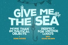 Check out Give Me The Nautical Hand Drawn Pack by Pavel Korzhenko on Creative Market