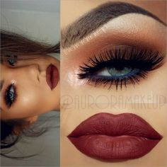 """""""Last pics of the same  look posted  previously,  BTW  it's inspired by @karrenjadexx   I used -Eye Shadows BOUDOIR , TIRAMISU & CARAMEL by…"""""""