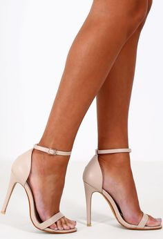Anonymous Nude Barely There Heels