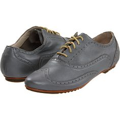 I am digging non-black oxfords but can't tell when they're girly enough. $120.00