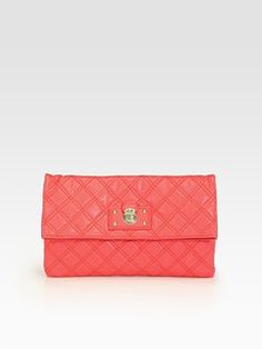 Marc Jacobs - Large Eugenie Clutch from Saks at 150 WORTH.