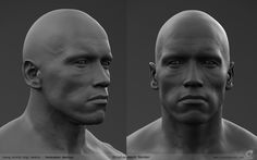 Displacement render of the Young Arnold digi double I helped create at MPC. Rendered in renderman RIS