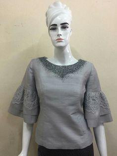 Model Kebaya Modern, Kebaya Lace, Filipiniana Dress, Thailand Fashion, Sewing Blouses, Thai Dress, Batik Dress, Muslim Fashion, African Dress
