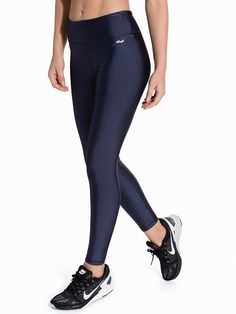 Liza Shiny Tights - Röhnisch - Dark Blue - Trikoot - Urheiluvaatteet - Nainen - Nelly.com Sport Wear, Tights, Fitness, Pants, How To Wear, Clothes, Women, Fashion, Navy Tights