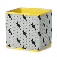 Collapsible Storage Cube - Lightening | Kmart