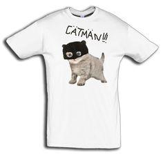 """T-Shirt men """"Catman"""" - FREIE FARBAUSWAHL von MAD IN BERLIN auf DaWanda.com"""