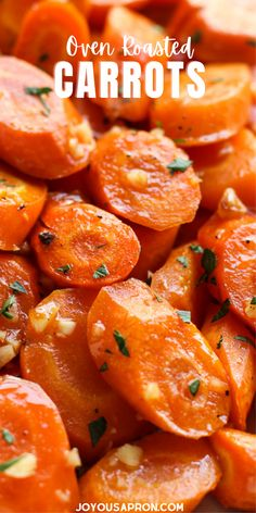 Oven Roasted Carrots (EASY)