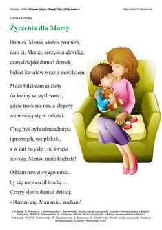Parenting Classes, Kids And Parenting, Polish Language, School Songs, Diy Presents, Creative Kids, Kids Education, Family Quotes, Gifts For Kids
